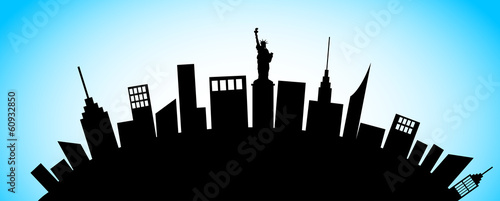 New York Cty Silhouette