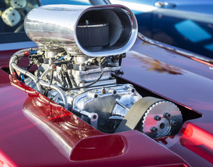 Hot Rod Chrome Supercharger