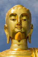 Buddha portrait.
