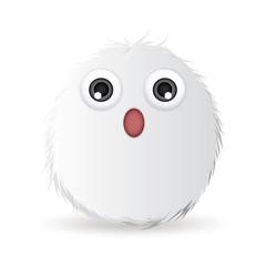 surprised hairball