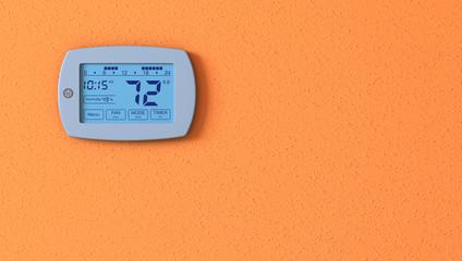 thermostat panel