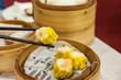 Classic shumai at Hong Kong dim sum restaurant