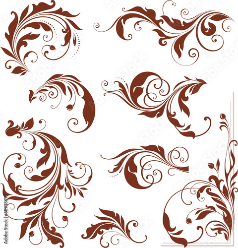 Ornate Swirl Collection