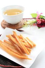 Japanese confectionery, deep fried sweet potato