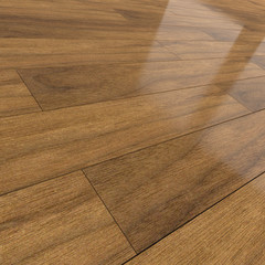 Dark brown wooden flooring tiles