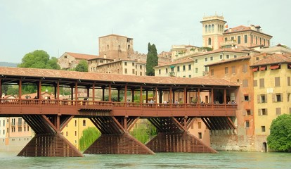 Bassano del Grappa Wood bridge