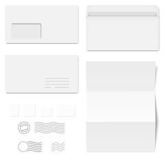 Briefumschläge / Briefpapier / Briefmarken