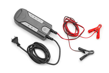 battery charger jumper cable