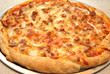 Large Freshed Baked Sausage Pizza Pie