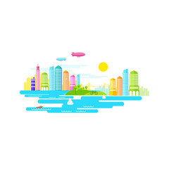 Small City Vector