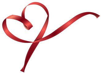 Valentinstag Herz Schleife