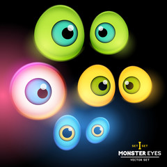Monster Eyeball Set