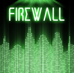 Firewall with cyber binary code technology