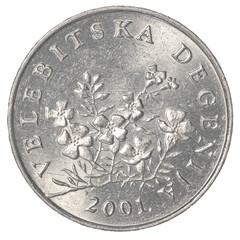50 croatian lipa coin