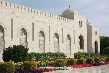 Moschee, Muskat. Oman