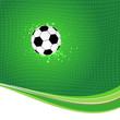 Fußballnetz mit Ball