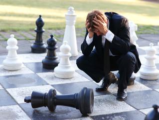 Verzweiflung - Schach matt