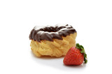 Chocolate glazed cruller