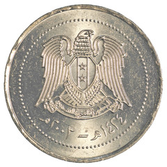 10 Syrian pound coin