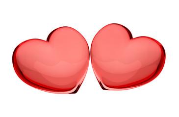 Стеклянные сердца