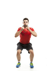 kettlebell weight exercise