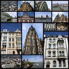 Cologne, Germany - photo collage
