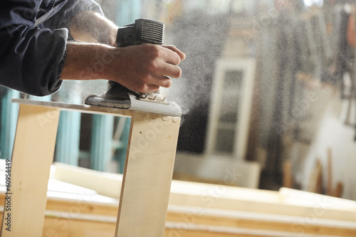Carpenter at work