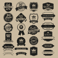 stikers vintage premium
