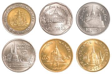 thailand circulating coins collection set