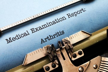Medical report - Arthritis