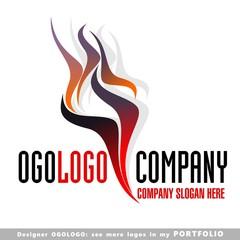 abstract, business, logo, emblem, vector