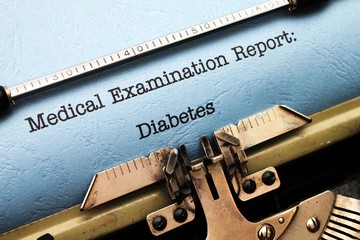 Medical report - Diabetes