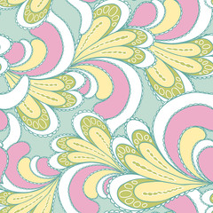 abstract bright seamless patterns