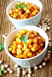 Chickpeas Curry with Parsley