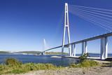 Bridge Russky through the Strait of Eastern Bosphorus poster