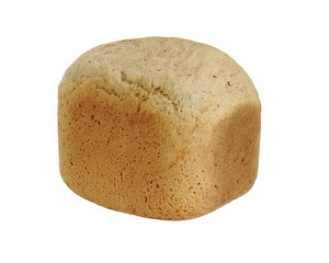 Пшеничный хлеб испеченый в хлебопечке, изолировано