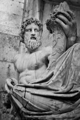 Roma, Piazza del Campidoglio. Statua del Nilo.