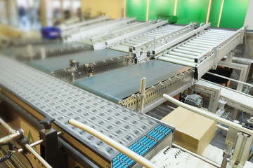 the image of automatic packing conveyor