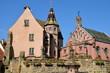 Place du Chateau, Eguisheim, Alsace, France