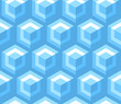 vintage cube effect wallpaper pattern