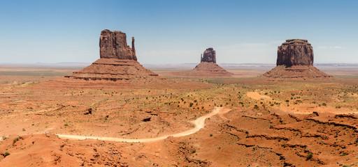 Monument Valley in Utah in America