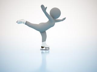 Figure skating. Winter olimpic games.
