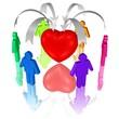begehrtes Herz, Partnerwahl