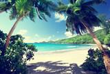 Fototapety beach, Mahe island, Seychelles