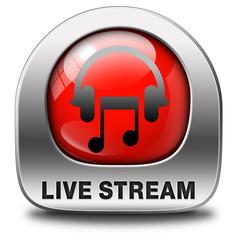 live stream music