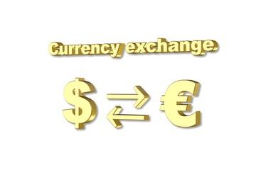 Доллар - Евро обмен валют
