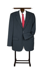 Clothes Valet Butler Coat Suit Garment Stand