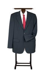 Clothes Valet Butler Coat Suit Garment Stand