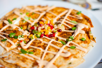 Lobster quesadillas