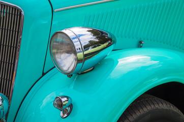 Car front optics